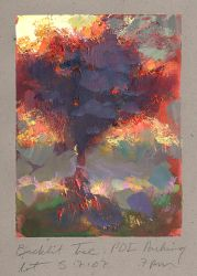 Backlit Cherry Tree! by NathanFowkesArt