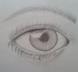 Eye - quick sketch by miss-jay13