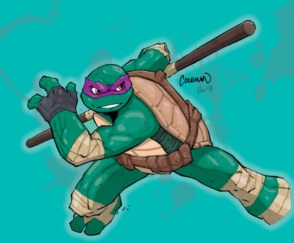 Donatello colours by giantboydetective