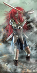 Erza Scarlet by excalibur321