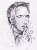 Alan Rickman by Doberlady