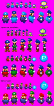 Water balloon power up sprites by Iwatchcartoons715