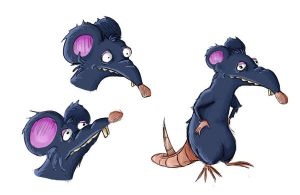 Youpi the rat by tranenlarm
