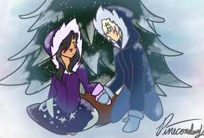 Dreams AU Christmas by Pineconelover12