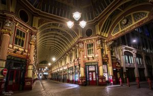 Leadenhall Market by LunaFeles