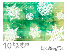 Snowflake Brushes by SparklingTea