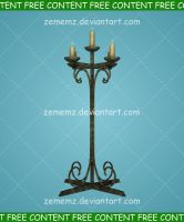 Candle 002 - FREE Content by zememz