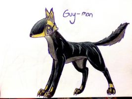 Guy-man by yugiohfreakXD