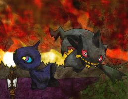 Shuppet and Banette