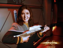 Star Trek firefly 6 Jewel Staite by gazomg