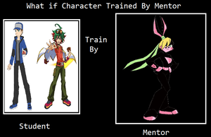 Jason and Yuya trained by Lexi by MarioFanProductions