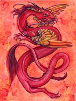 Chinese Dragons: Fire by gpalmer