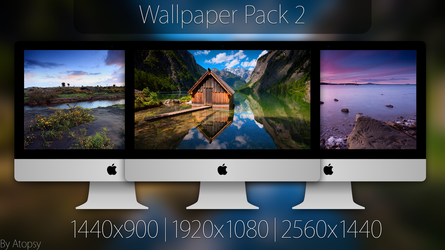 Wallpaper Pack 2 by Atopsy