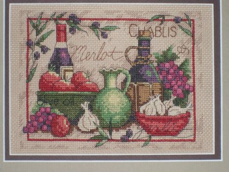 Wine and More Cross Stitch by DragomirEmil