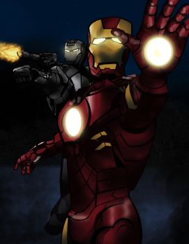 Iron Man by dcproductions25