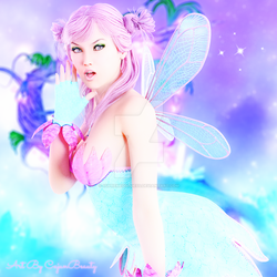 Cotton Candy Fairy by Supremegoddess