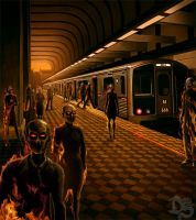 Metro to Hell by SolarShine