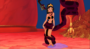 Jasmine Made To Undulate In Mistress Kaa's Temple by hypnotica2002