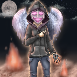 Like A Moth To The Flame by HashSlash