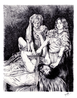 Judith and Holofernes by Carella-Art