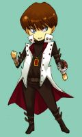 Commission: chibi Seto Kaiba by O-Kei