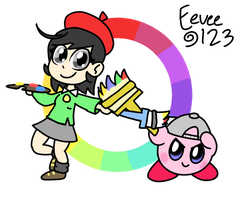 Kirby - Power to the Painters by EeveeFromKalos123