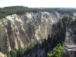 The Grand Canyon of Yellowstone by MidknightStarr