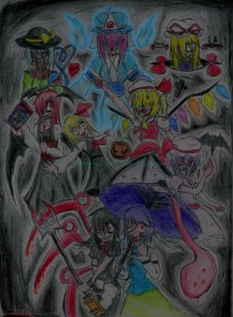 GensokyoHalloweenNightmare2010 by Mad-Silence