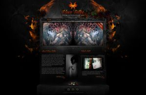 Tattoo Site Design by bojok-mlsjr