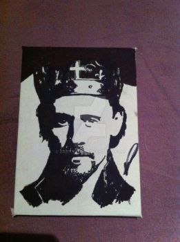 Tom Hiddleston is King Henry V by BartyJnr