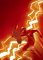 Flash Colored by ANDREA11179 by DelHewittJr