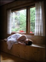 By The Window V by Eirian-stock