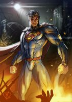 Superman by DazTibbles