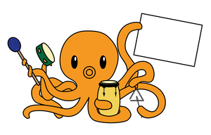 Percussion Octopus by tynafish