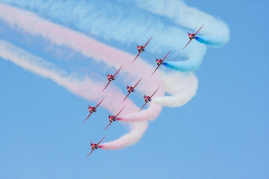 Red Arrows by james147741