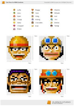 One piece Emotions by kirozeng