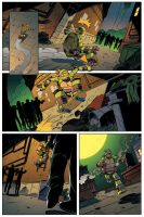 TMNT Animated #3 Page 5 by angieness