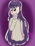 Video Games- Yuri in a sweater // DDLC by Vanna2005