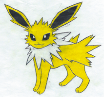 Jolteon by ShadowWolf1456