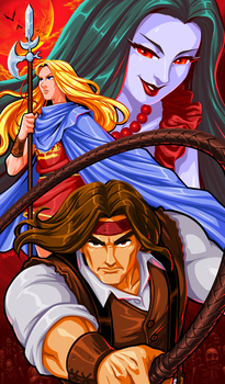 Castlevania Bloodlines - The New Generation by Kaigetsudo