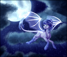 Art trade with Moon--Freak by Endilia