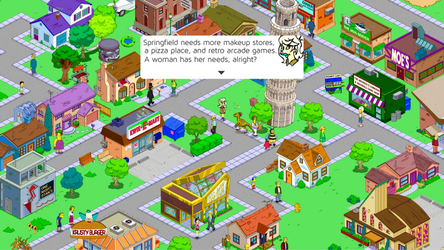 Simpsons Tapped Out Quest Ft. Caroline?! by CarolineSimpson