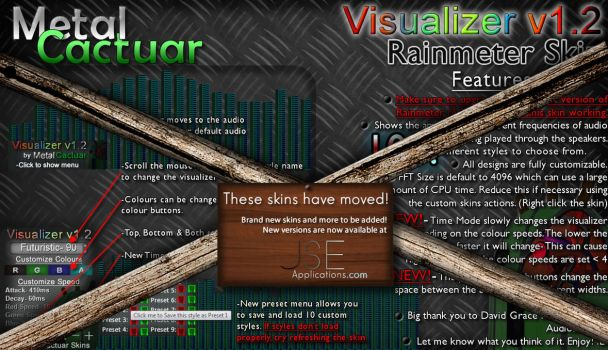 Visualizer v1.20 [MOVED] by MetalCactuar