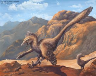 The Velociraptor Hunting Dance by EWilloughby