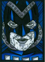 Sketchcard Black Hand by RichBernatovech