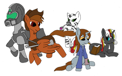 Fallout Equestria by DCHorror