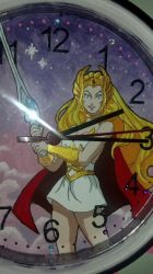 She-Ra Clock by gunslingergal