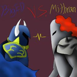 BigEd VS. Mithran by Spikestar5