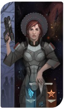 Commission: Shepard by madnessdemon
