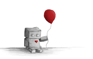 My red balloon by abrider3